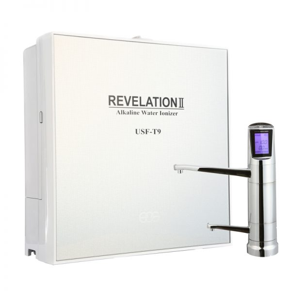 EOS Hitech REVELATION II under sink water ionizer (pH 11, 9 plaques)