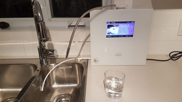 NEC 901, NEC 901 / JAY 201 – ioniseur d'eau alcalin sur comptoir,  pH 11, 9 plaques –  EOS Hitech, Aqualife.ca