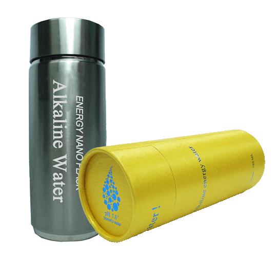 Alkaline bottle, Alkaline bottle nano-energy, Aqualife.ca